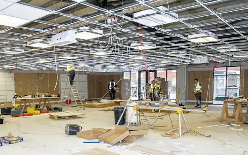 What is fit-out construction?